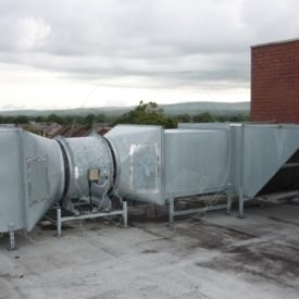 Ducting and Ventilation Deep Cleaning / Extract Cleaning - Commercial and Industrial ducting and ventilation system deep cleaners throughout Preston, Blackpool, Cumbria, Lake District, Manchester, Liverpool, Chester, Lancashire and the North West.