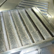 BEFORE - Monthly Filter Deep Cleaning by PJS Hygiene Ltd - Commercial and Industrial monthly kitchen grease filter cleaners throughout Preston, Blackpool, Cumbria, Lake District, Manchester, Liverpool, Chester, Lancashire and the North West.