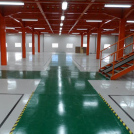 Industrial Floor Deep Cleaners. PJS Hygiene Ltd, based nr. Preston, Lancashire, North West.